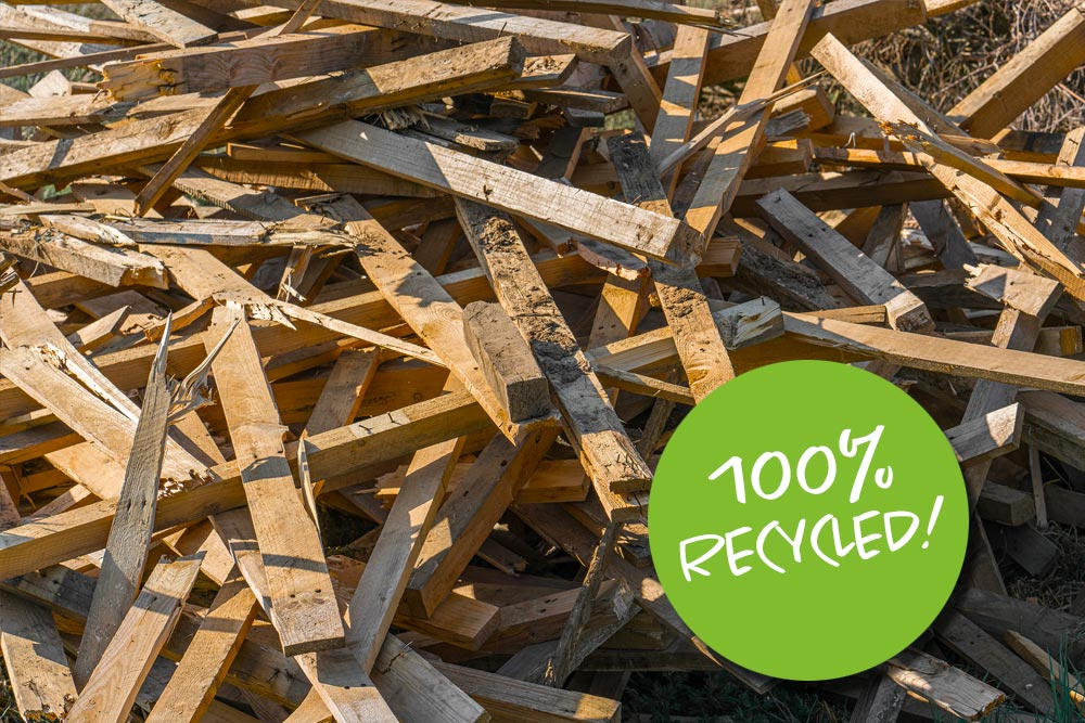 presswood pallets 100% recycled
